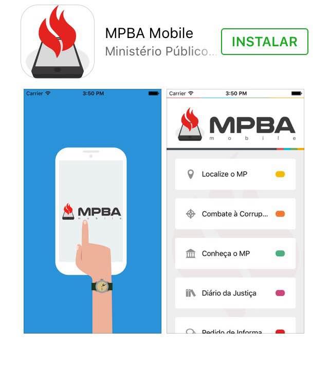 Ministério Público lança aplicativo de celular para cidadãos
