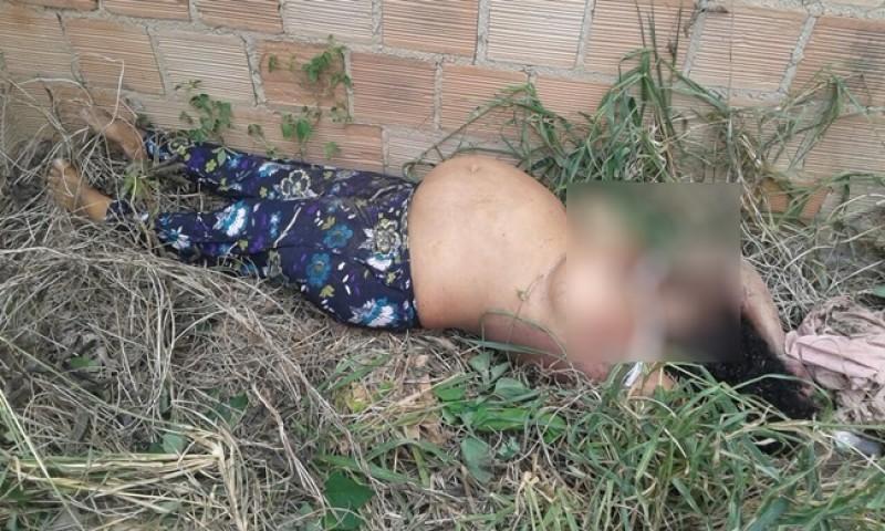 Mulher grávida é assassinada com pauladas