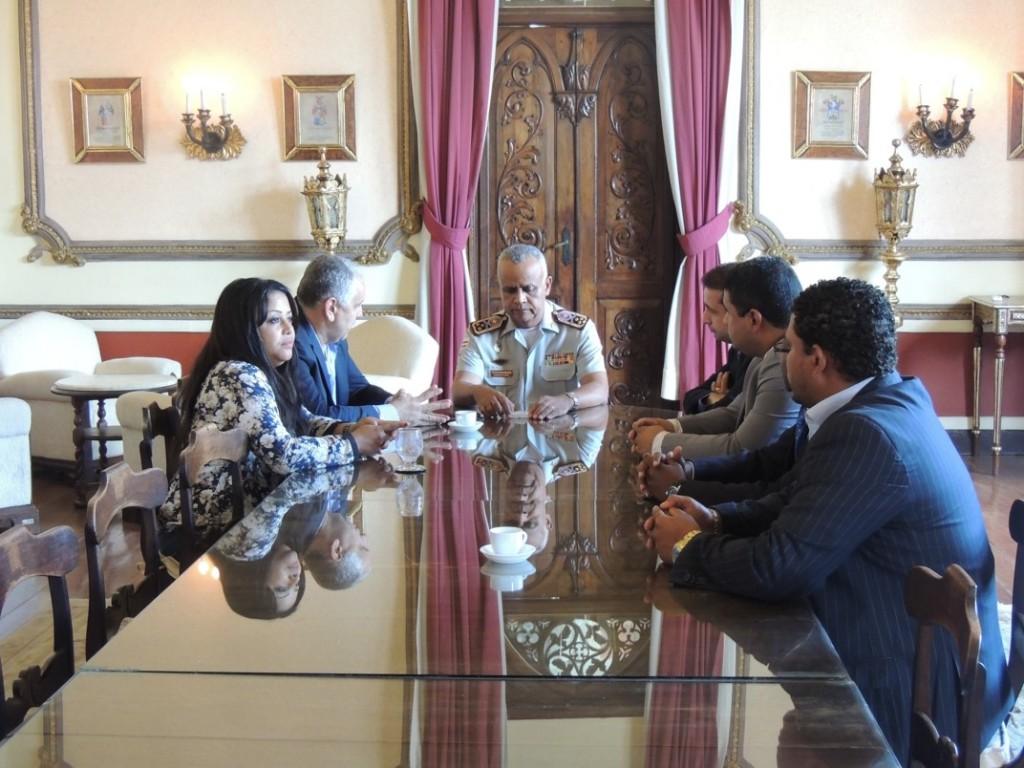 Segurança Pública foi pauta de reunião dos vereadores de Candeias com o Comandante Geral da PM