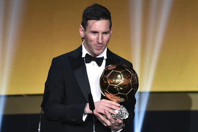Messi é escolhido o melhor do mundo mais uma vez