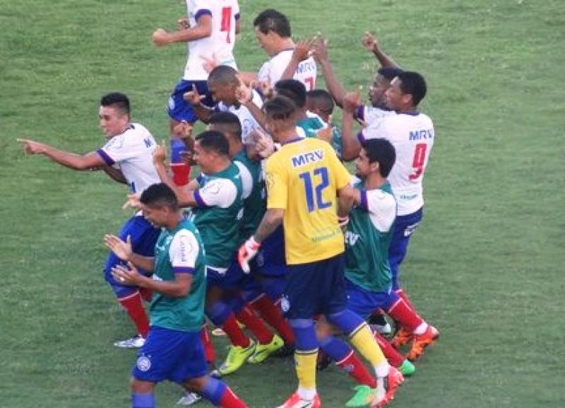 Bahia vence o Santa Cruz na estreia da Copa do Nordeste