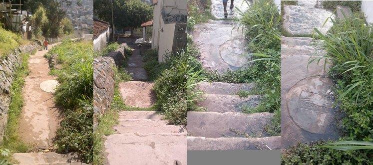 Escada do Malembá continua abandonada