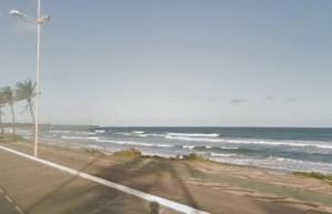 Corpo de homem é encontrado na areia da praia de Jaguaribe