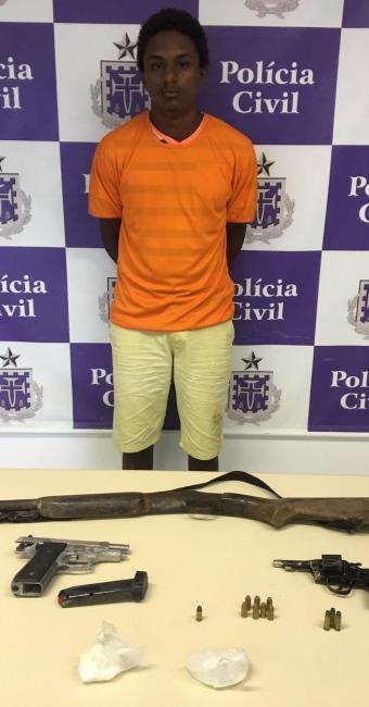 Mais um traficante é preso em São Francisco do Conde