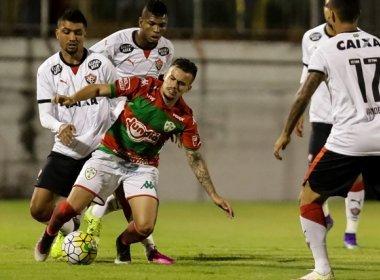 Vitória empata com a Portuguesa pela Copa do Brasil