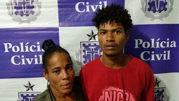 Casal é preso por tráfico de drogas em Candeias