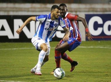 Bahia joga mal e perde para o Paysandu