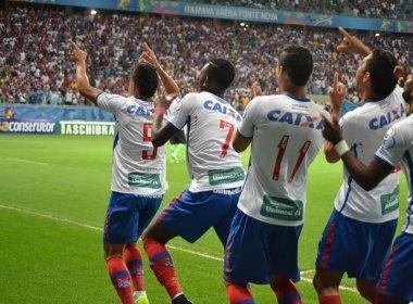 Bahia vence Goiás na Arena Fonte Nova e retorna ao G-4 da Série B