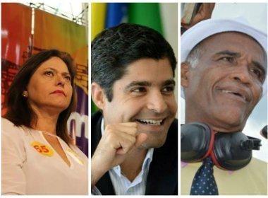 Ibope/TV Bahia: ACM Neto chega a 69% de intenções de voto; Alice chega a 12%