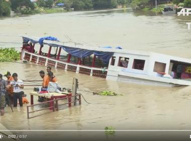 Naufrágio na Tailândia deixa 15 mortos e 11 desaparecidos