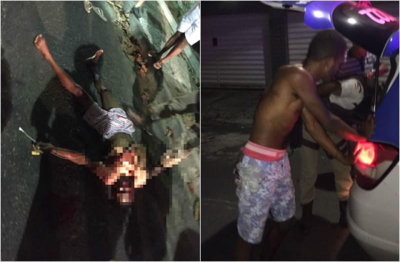 Noite de terror no Rio Vermelho