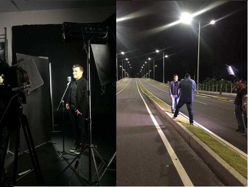 Tayrone grava novo clipe nas ruas de Salvador