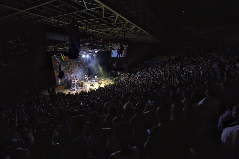 Saulo, Tomate e Levi Lima atraem grande público para Concha Acústica