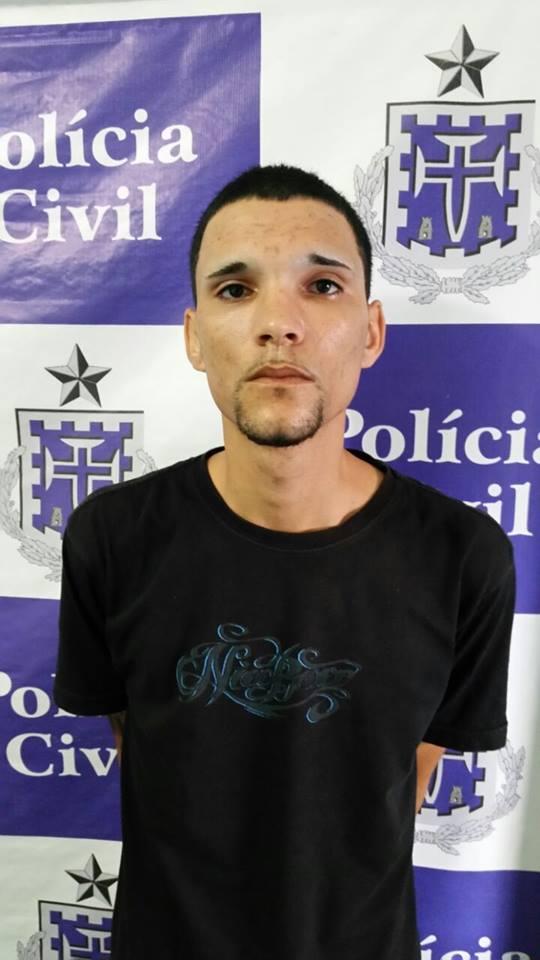 Candeias: Homicida é preso com posse de arma de foto no Malembá