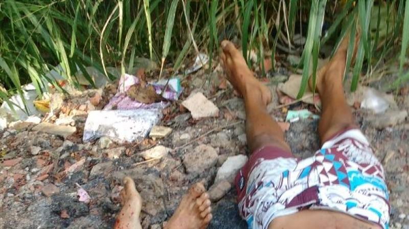 Dois corpos são encontrados com marcas de tiros
