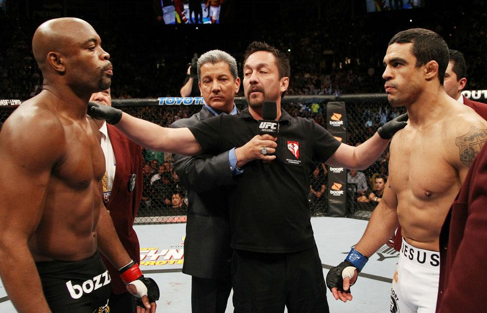Belfort revela desejo de revanche com Anderson Silva