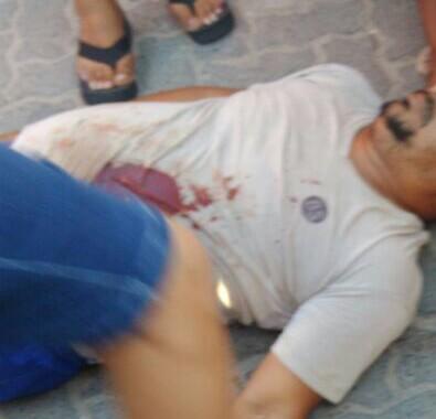 homem é morto a tiros na central de abastecimento de candeias