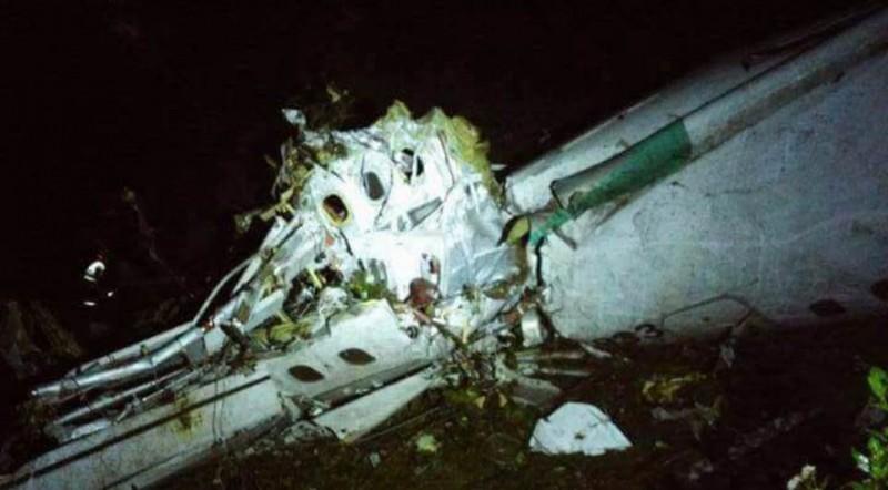 76 pessoas morreram no acidente com avião da Chapecoense