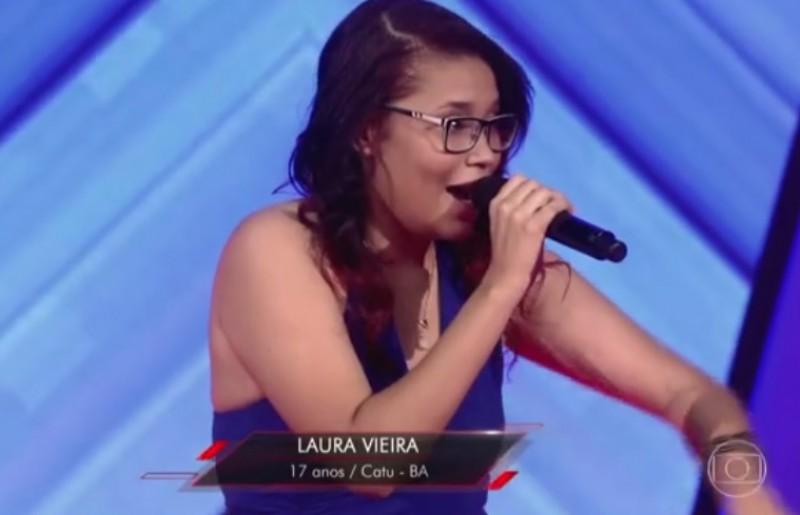 Aos 17 anos, baiana de Catu é classificada no The Voice Brasil