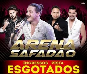 Após fracasso em Itajuípe, show de Safadão esgota ingressos em Conquista