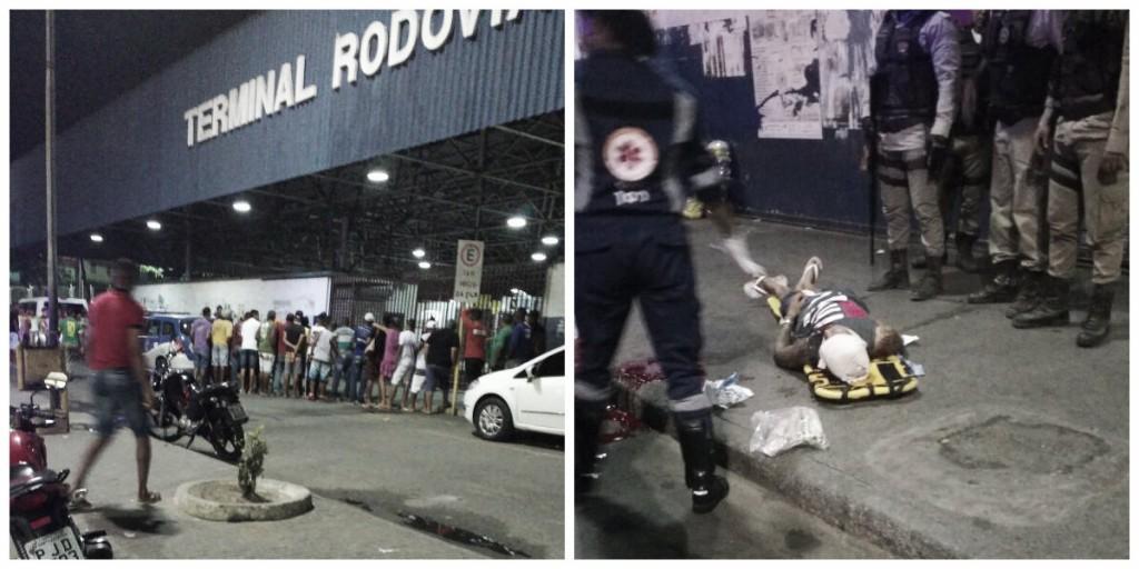 Candeias: Homem é baleado no Terminal Rodoviário