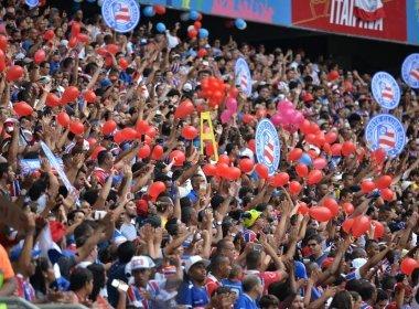 Bahia vence o Bragantino na Arena Fonte Nova