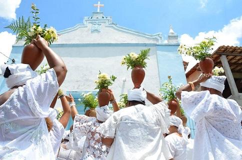Lavagem de Nossa Senhora da Conceição da Praia acontece neste fim de semana na Orla Marítima