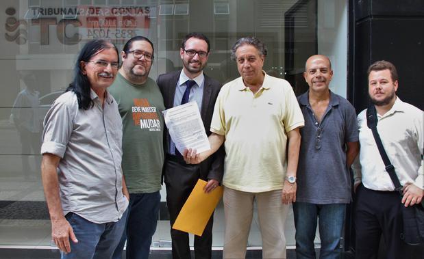 Vereadores do PSOL na Câmara do Rio
