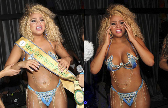 Baiana conquista título de Miss Bumbum 2016