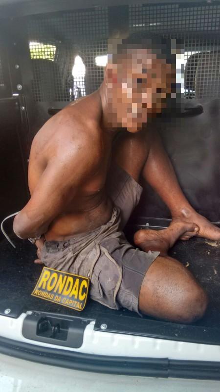Homem é preso em flagrante após estuprar mulher na orla de Salvador