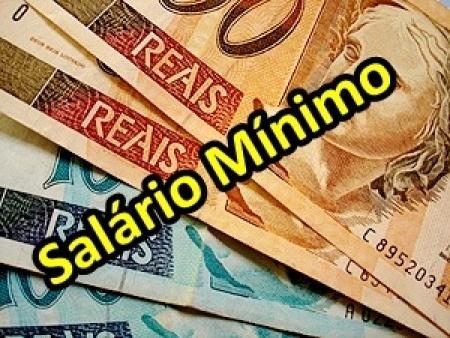 Novo salário mínimo de R$ 937 entra em vigor em 1º de janeiro