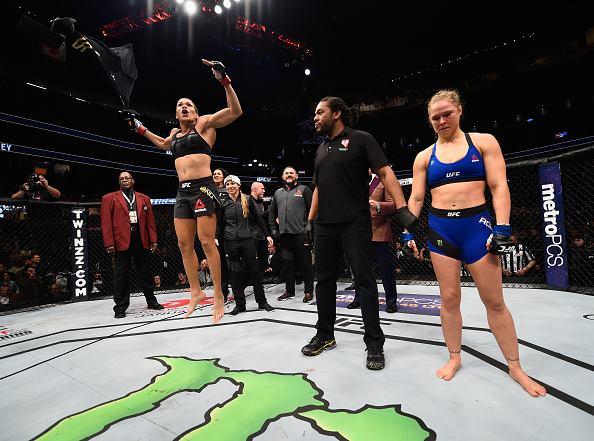 Amanda Nunes e Ronda