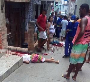 Três jovens são executados a tiros em Salvador