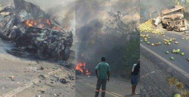 Acidente grave entre os município de Candeias e São Sebastião do Passé