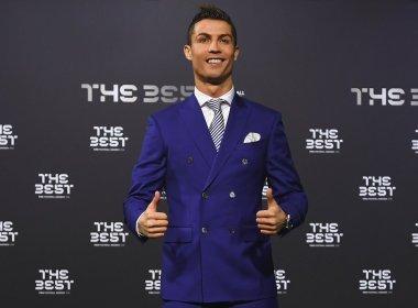 Cristiano Ronaldo é eleito melhor jogador do mundo pela Fifa