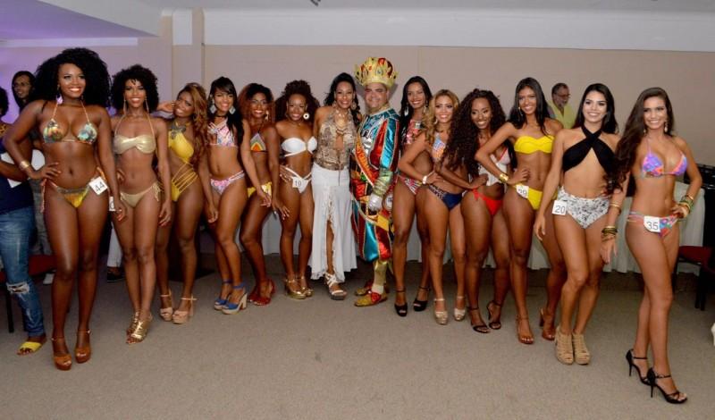 Definidas as 12 finalistas do Concurso Rainha do Carnaval de Salvador 2017