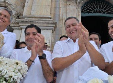 Fora de ano eleitoral, Rui Costa e ACM Neto aproveitam popularidade no Bonfim