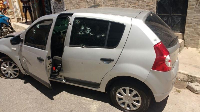Policial militar é baleado após emboscada em Lauro de Freitas