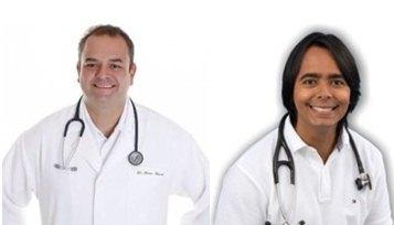 Dr. Pitagoras e Dr. Breno